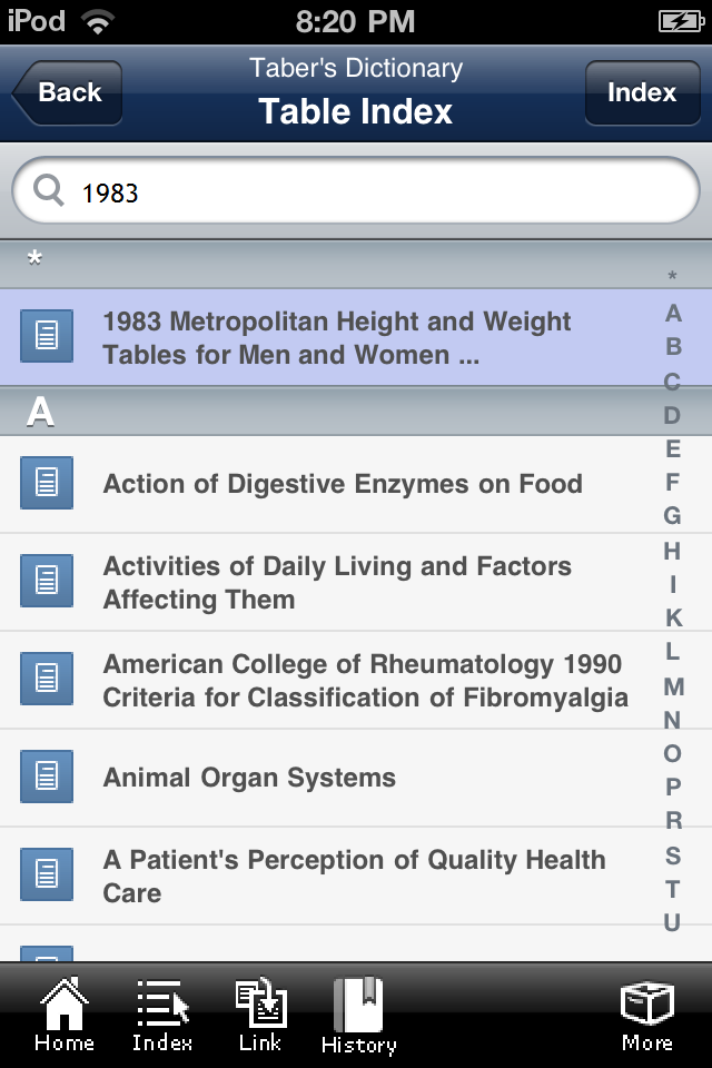 The leading health science dictionary all on your pocket pc